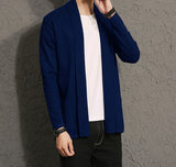 Mens Open Front Cardigan - AmtifyDirect