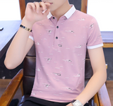 Mens Polo Shirt with Print