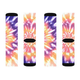 Pink Tie Dye Novelty Socks