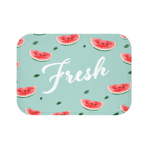 Fresh Watermelon Bath Mat