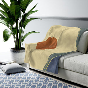 California Sun Velveteen Plush Blanket
