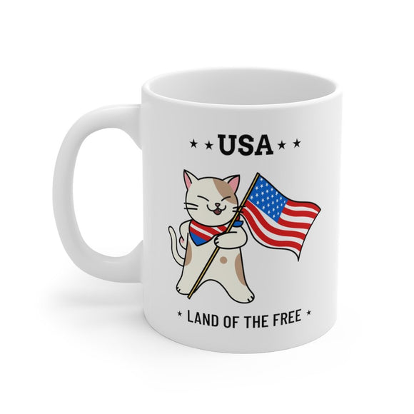 USA - Land of the Free Mug