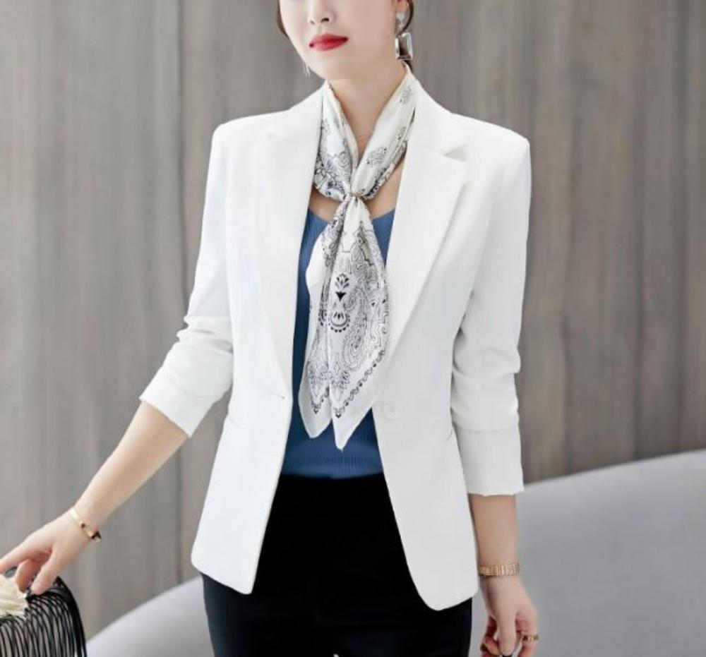 Womens Business Smart Slim Fit Blazer