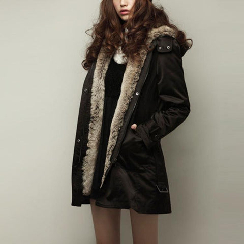 Three Season Jacket - Detachable Faux Fur Lining