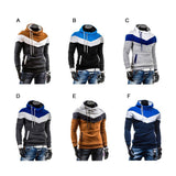 Mens Hoodie Chevron Design - AmtifyDirect