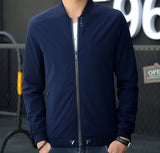 Mens Drawstring Bomber Jacket