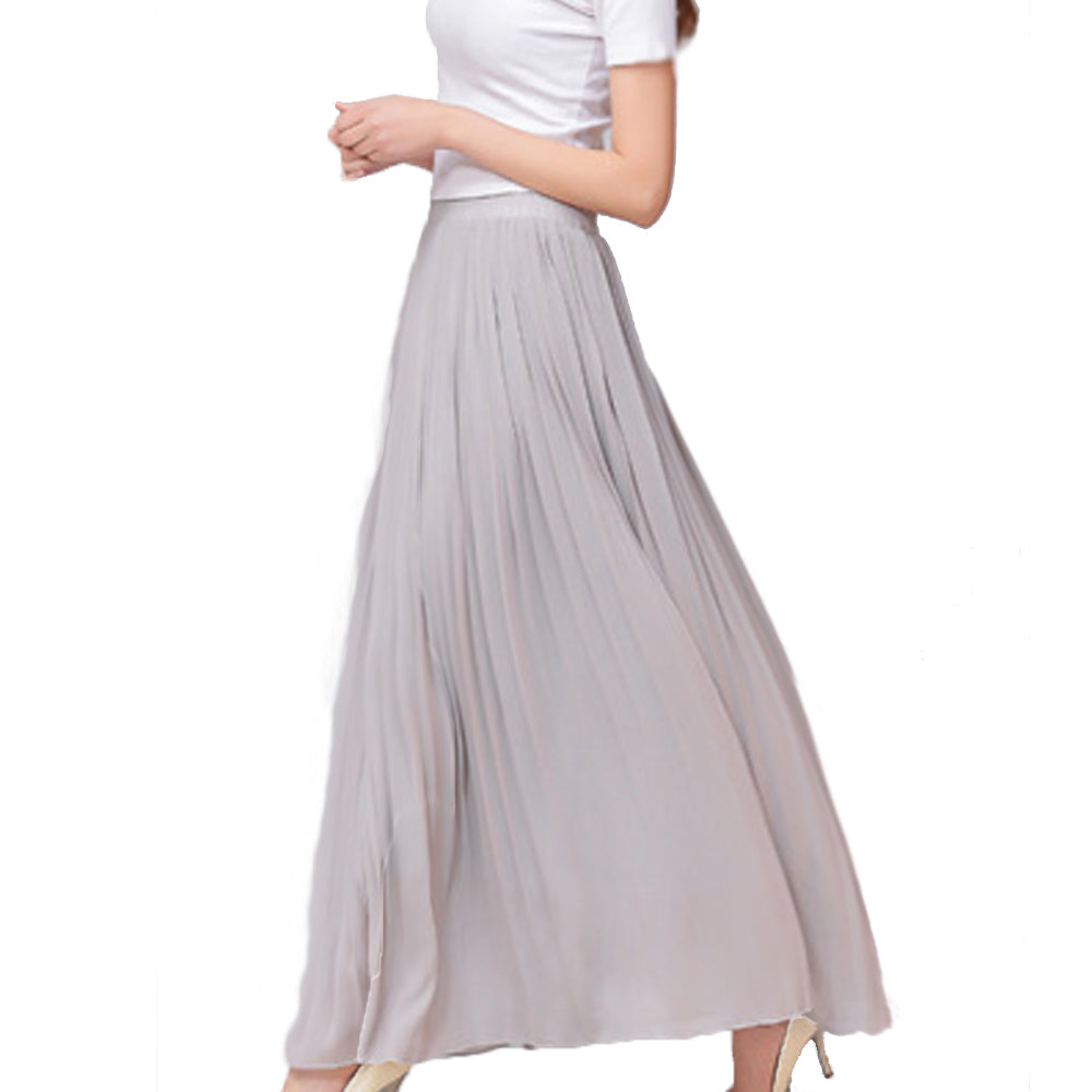 Pleated Versatile Accordion Skirt