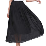 Casual Long Chiffon Skirt