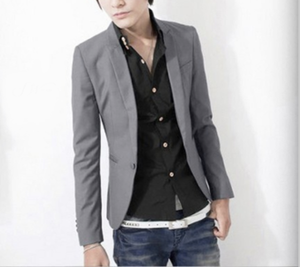 Mens Slim Fit Affordable  Blazer - Multiple Colors