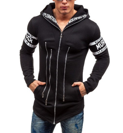 Men's Casual Zipper Hoodie - AmtifyDirect
