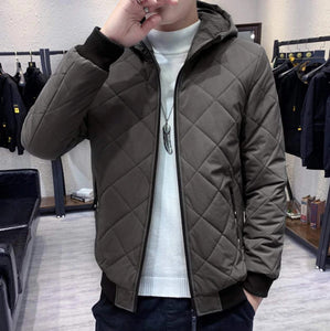Mens Quilted Jacket with Warm Lining