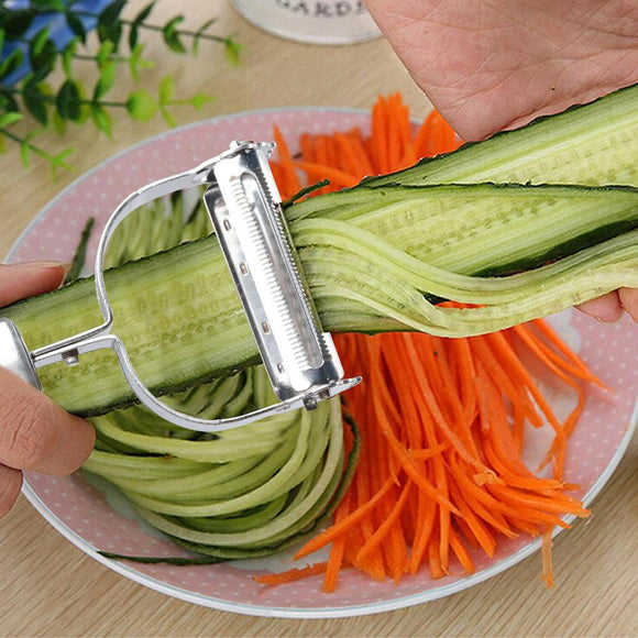 Stainless Steel Peeler Vegetable Cucumber Carrot Fruit Potato Kitchen Tool
