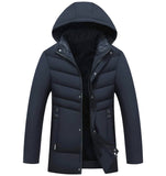 Mens Jacket with Detachable Hood