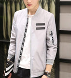 Mens Sporty Bomber Jacket
