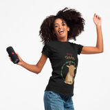 Holiday Reindeer Short Sleeve Tee Shirt