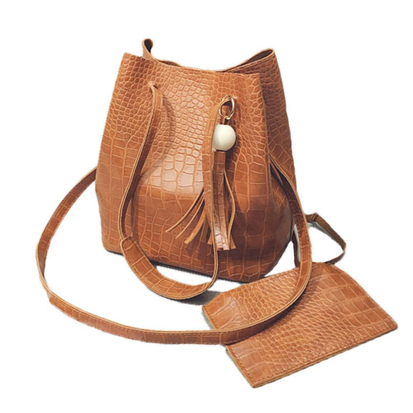 Womens Vegan Leather Shoulder Bag
