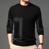 Mens Crew Neck Knitted Sweater