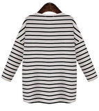 Womens Casual Stripe Top