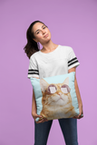 Cat is Always Right Square Pillow Two Sided - 4 Sizes