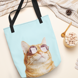 Cat is Alway's Right Tote Bag