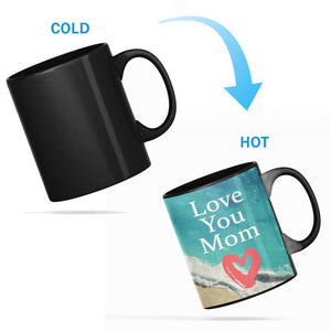 I Love you Mom Heat Sensitive Color Changing Mug