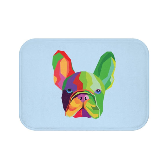 Colorful Dog Bath Mat