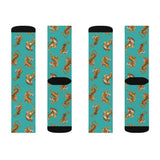 Tiger Fun Novelty Socks