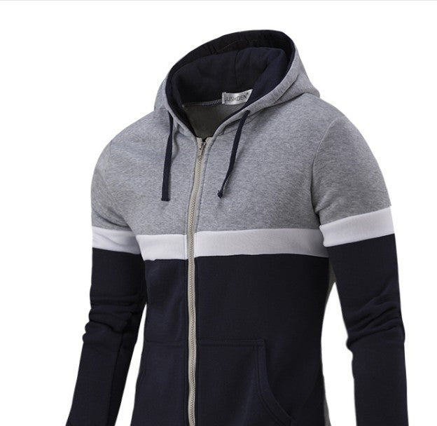 Men's Casual Zip Up Hoodie