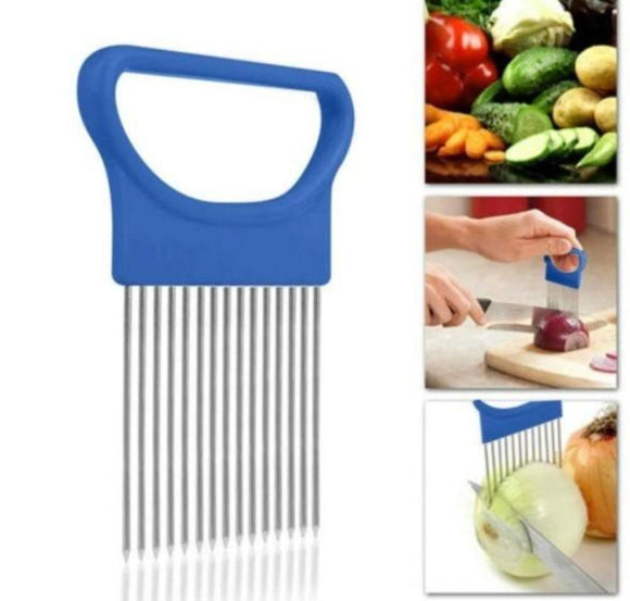 Stainless Steel Vegetable Slicer Holder 4 pcs set