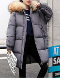 Womens Hooded Puffer Coat