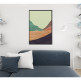 Tranquil Mountains Premium Matte vertical posters