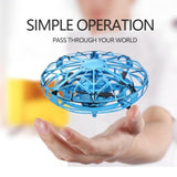 Ninja Dragons Mini UFO Gesture Control Drone Toy