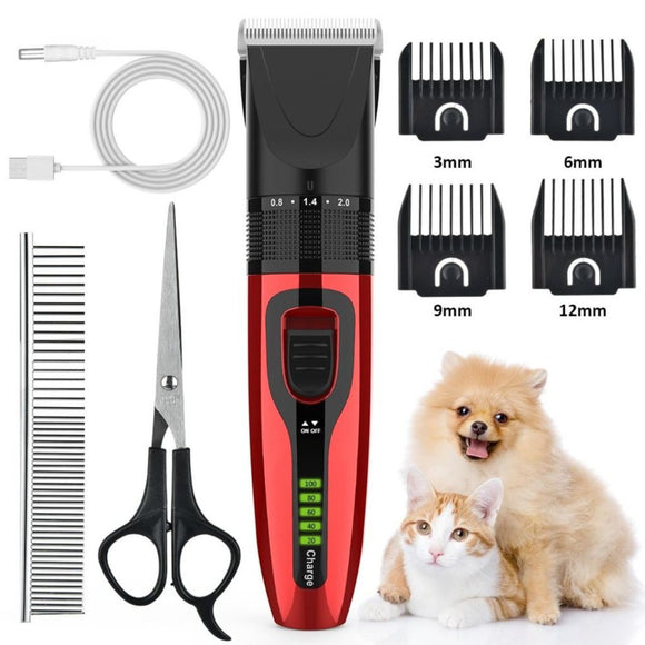 Pet Grooming Clippers Deluxe Kit