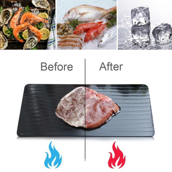 Fast Defrosting Thaw Food Tray for Meat and Seafood