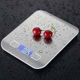 Electronics Kitchen Scale Stainless Steel