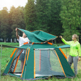 Large Size UV Waterproof Double Layered Automatic Camping Tent