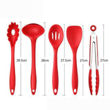 Non Stick Silicone Cooking Utensils Premium Heat Resistant 10 PCS Set