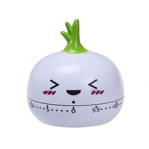 Kitchen Cooking Timer with 60 Minutes Timer in Cartoon Style
