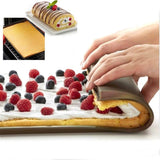 Non-stick Silicone Oven Cake Roll Mat 2 pcs set