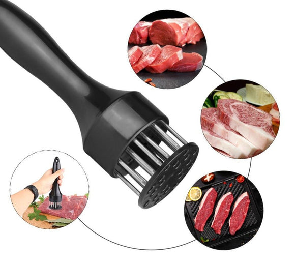 Stainless Steel Needle Meat Tenderizer 2 pcs set