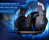 LED 3.5MM Stereo Gaming Headphone with Microphone