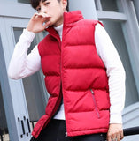Mens Casual Puffer Vest