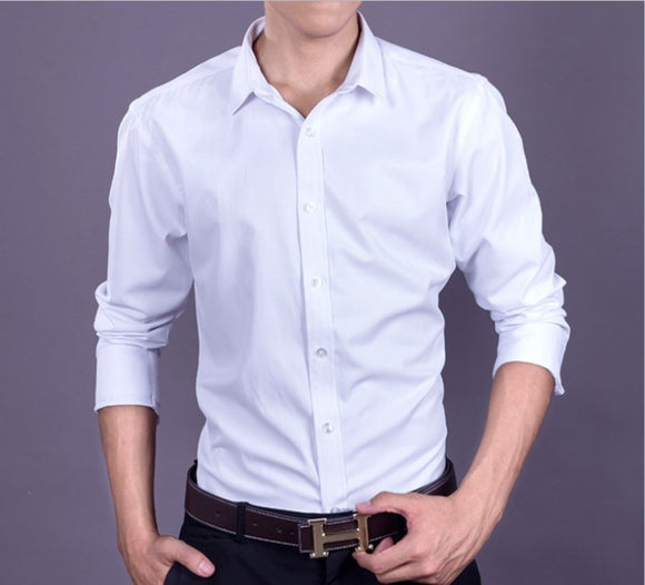 Men's Casual Button Front Shirt - AmtifyDirect