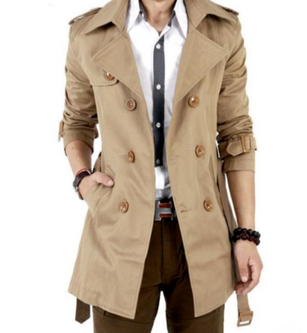 Mens Classic Trench Coat