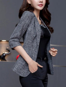 Womens Quarter Sleeve Blazer