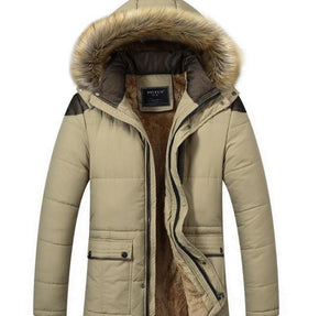 Men's Winter Coat with Hood - AmtifyDirect