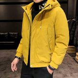 Mens Hooded Casual Winter Jacket