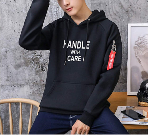 Mens Athletic Hoodie with Logo - AmtifyDirect