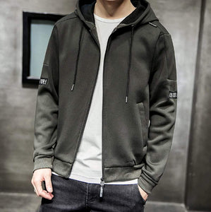 Mens Street Style Hooded Jacket