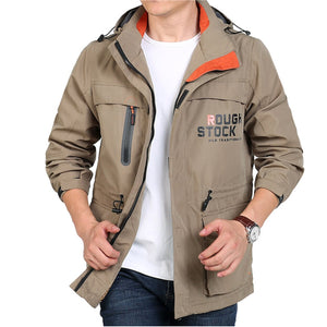 Multi Season Jacket with Removable Hood